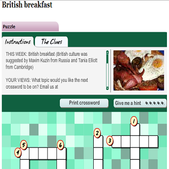 ONLINE GAME FOR CHILDREN: ENGLISH BREAKFAST (SOURCE: bbc.co.uk)