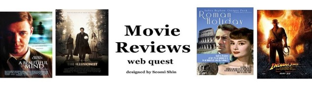 FILM REVIEW WEBQUEST