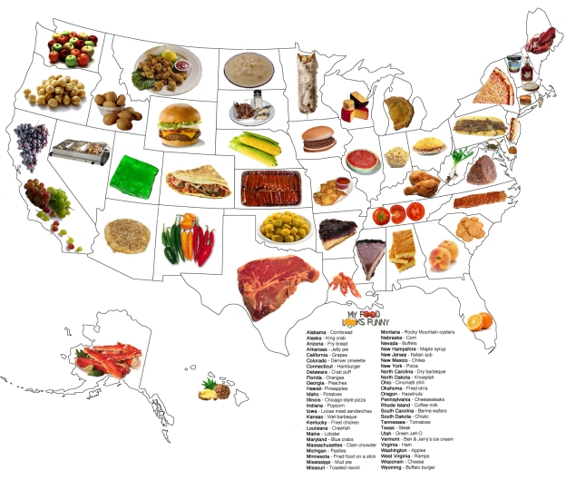 food-by-state2 Teaching Countable And Uncountable Nouns Ppt on collective nouns, mass and count nouns, gender of nouns, examples of nouns, esl nouns, countable vs uncountable, counting nouns, compound nouns, specific nouns, proper nouns, abstract nouns,