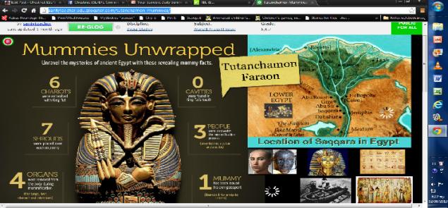 Tutanchamon Mummies-View Glogster