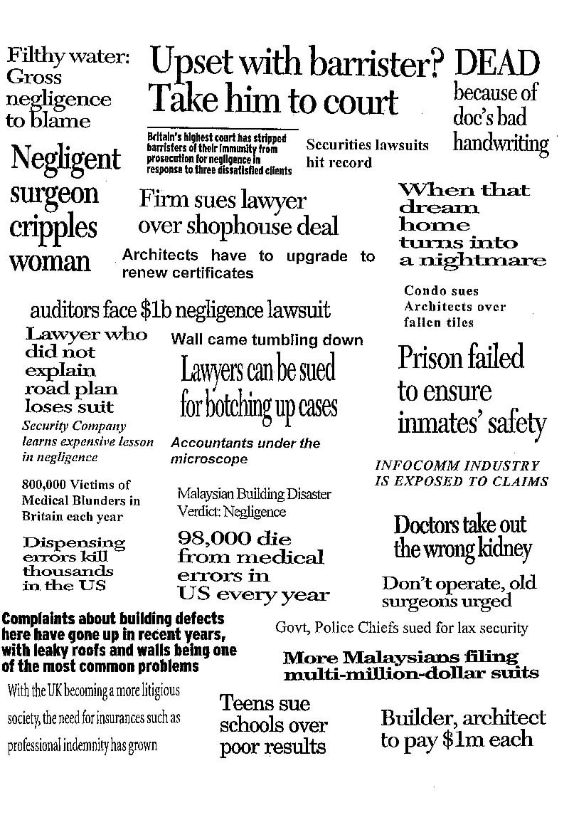 Pay for writing newspaper headlines