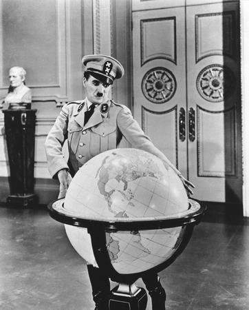 """The Great Dictator"" was the last time Charlie Chaplin played a little man with a mustache. (SOURCE: rogerebert.suntimes.com)"