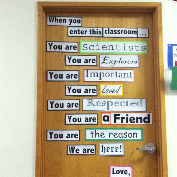 Our Classroom Agreement Chestnut Eslefl