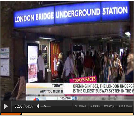 5 fun facts: What you don't know about London (SOURCE: today.com) CLICK TO WATCH VIDEO