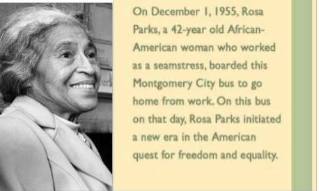ROSA PARKS BUS: THE STORY BEHIND THE BUS (SOURCE: hfmgv.org- THE HENRY FORD MUSEUM)