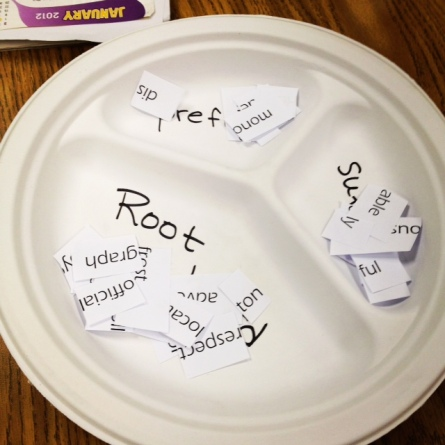 Masters of Prefixes, Suffixes and Root Words: ACTIVITY (SOURCE: mrslesser.com)