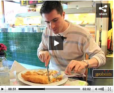 WATCH VIDEO: FISH BONE (RESTAURANT) SOURCE: geobeats.com