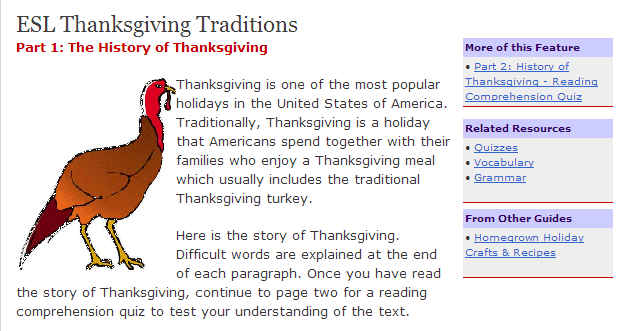 thanksgiving essays lesson plans Library lesson plans and ideas for the free thanksgiving lessons and activities click the button below to access your free k-5 thanksgiving lesson plans.