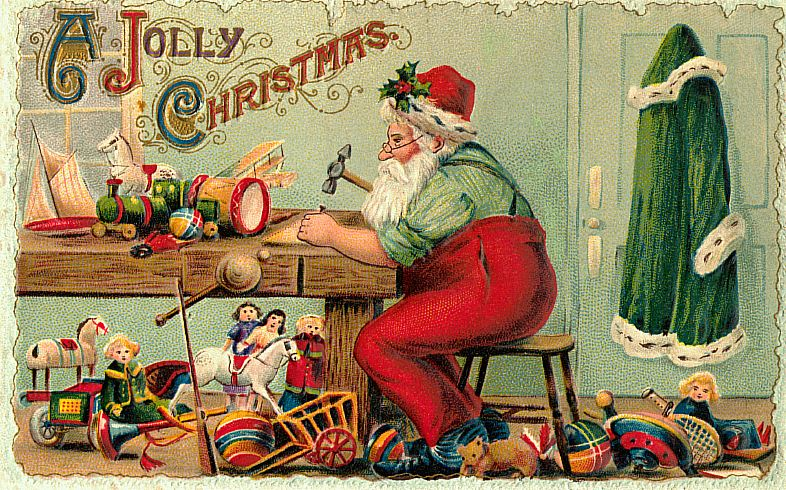 Vintage Christmas cards « Chestnut ESL/EFL
