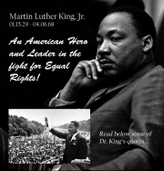 Martin Luther King, Jr QUOTES- CLICK TO READ (SOURCE: kennethbargers.com)