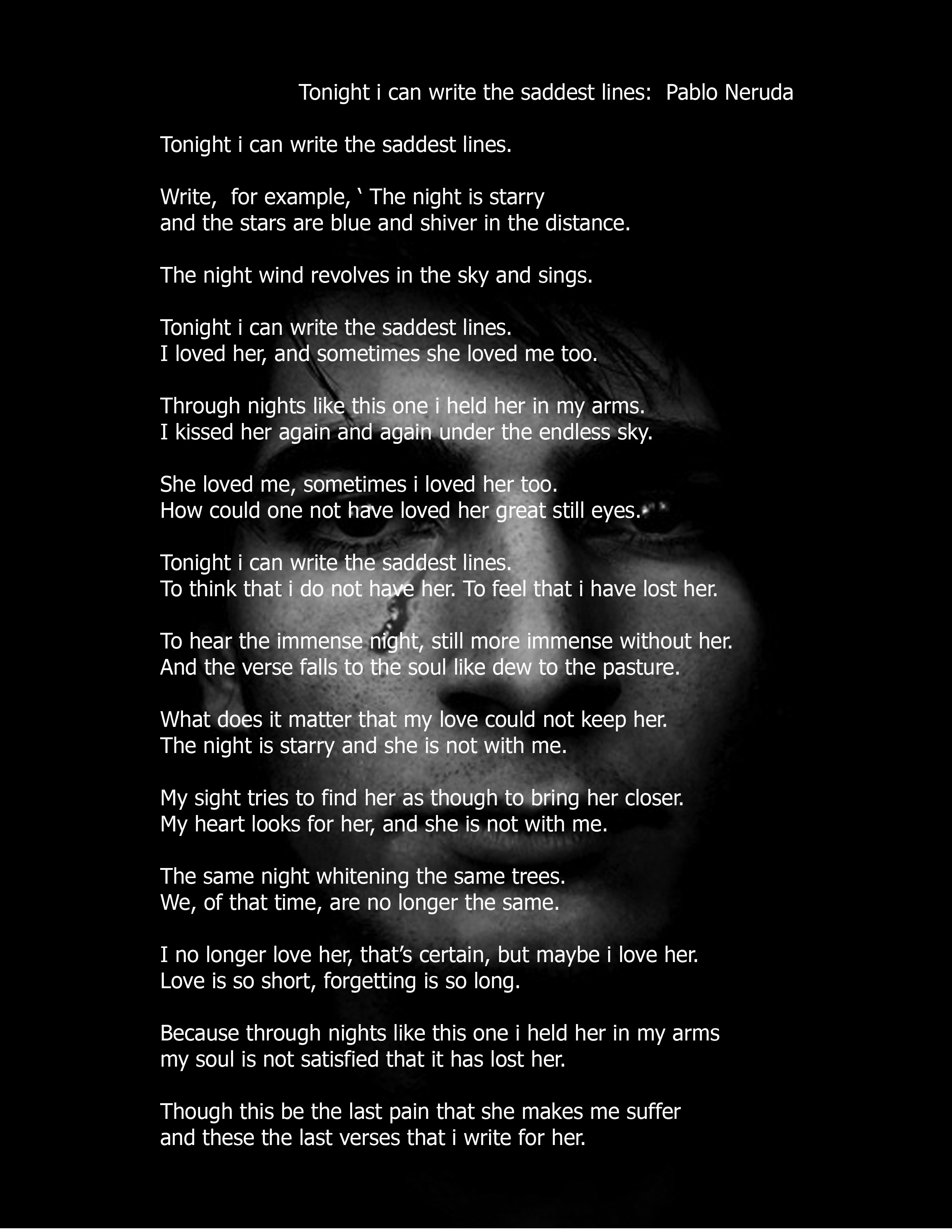 the way spain was by pablo neruda