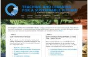 Teaching and Learning for a Sustainable Future is a UNESCO programme for the United Nations Decade of Education for Sustainable Development. It provides professional development for student teachers, teachers, curriculum developers, education policy makers, and authors of educational materials.