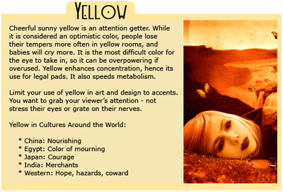 Color Psychology: The Cards- VIEW ALL COLOURS (SOURCE: webdesign.org)