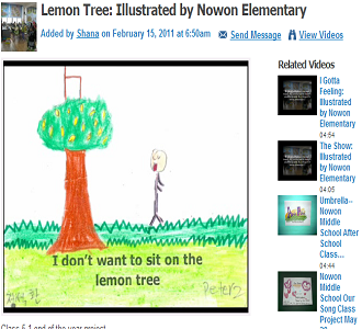 WATCH LEMON TREE HERE (SOURCE: community.eflclassroom.com)