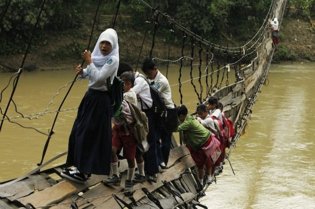 The Treacherous Trip To School (SOURCE: takepart.com)