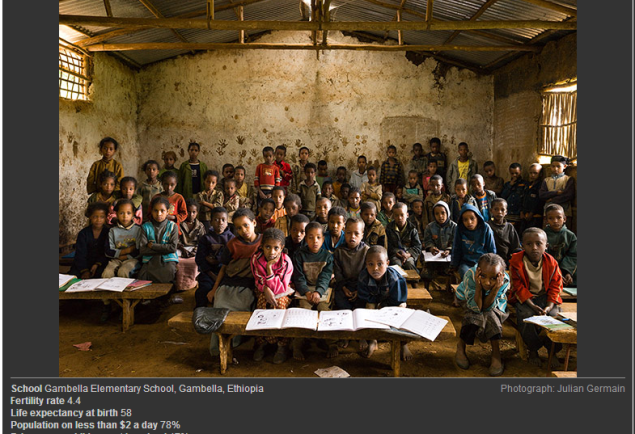 VIEW SLIDESHOW: Classrooms around the world – in pictures (SOURCE: guardian.co.uk)