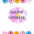 Teacher Binder Flowers: SIGN UP FOR FREE & DOWNLOAD (SOURCE:teacherspayteachers.com)