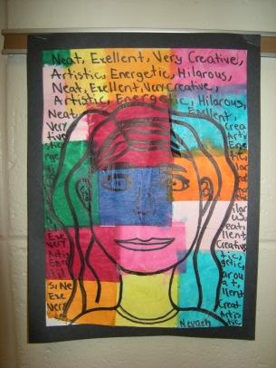 Klee Self Portraits (SOURCE: greenbayartroom.blogspot.gr)