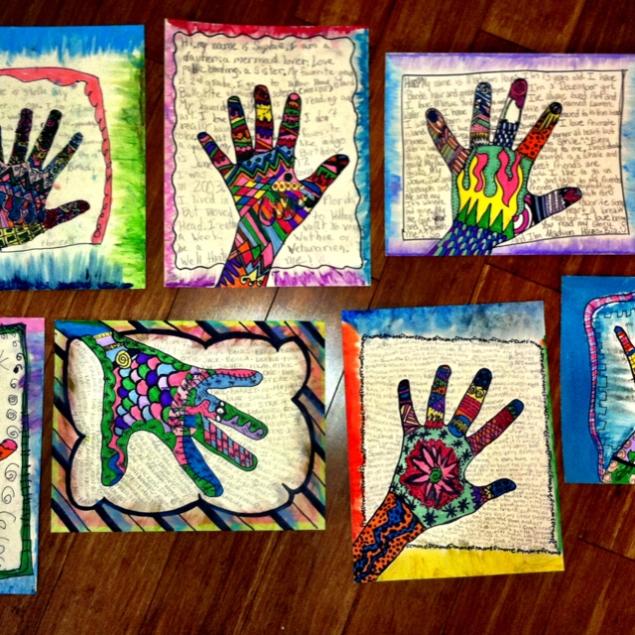 Calendar Art Ideas For Teachers : Combine art and writing « chestnut esl efl