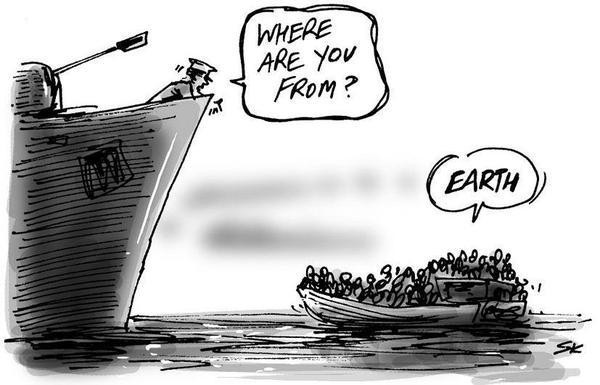 READ ARTICLE: The Refugee Crisis Isn't a 'European Problem'