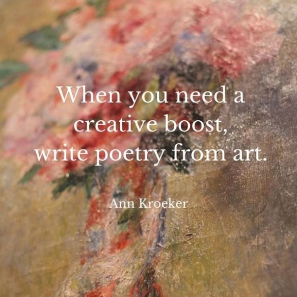 Ekphrastic Poetry In Eslefl Poems Inspired By Visual Arts
